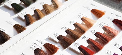 مراحل یادگیری کاتالوگ خوانی رنگ مو