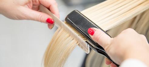 مراحل یادگیری صاف کردن مو