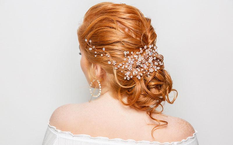 رنگ مو عروس هایلایت