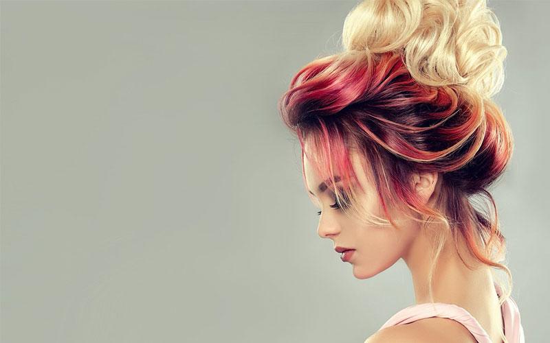 رنگ مو عروس تیره