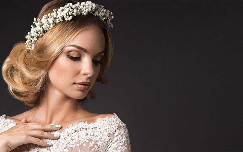 مدل شینیون عروس جدید