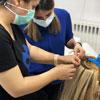 آموزش اکستنشن مو با گیره