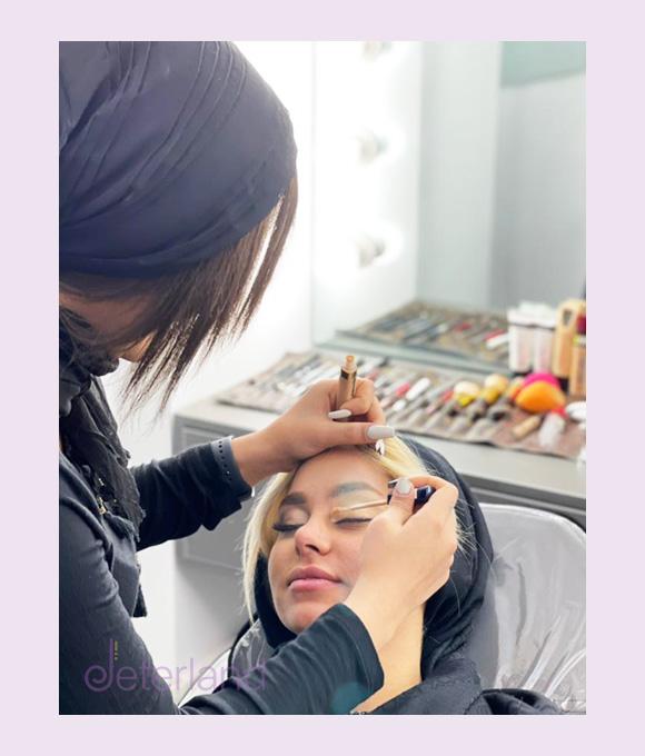 دوره تخصصی آموزش آرایش عروس