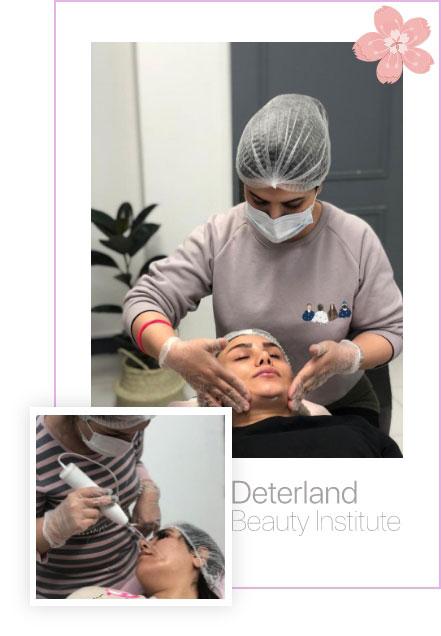 هنرجویان دترلند در رشته خدمات مو