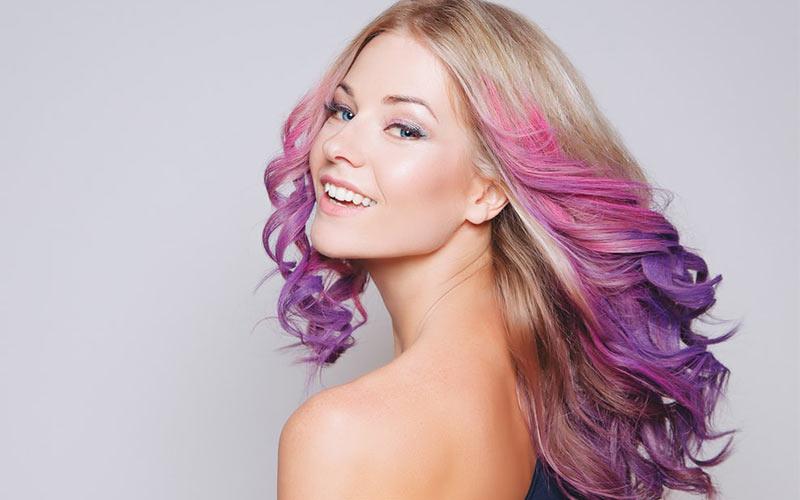 رنگ مو دخترانه 2021