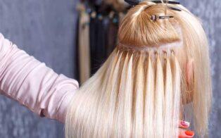 آموزش اکستنشن مو با رینگ
