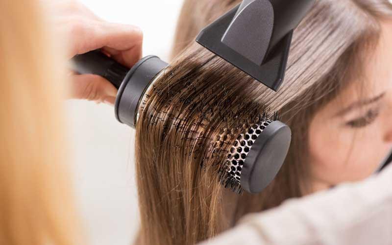 آموزش براشینگ مو مرحله به مرحله