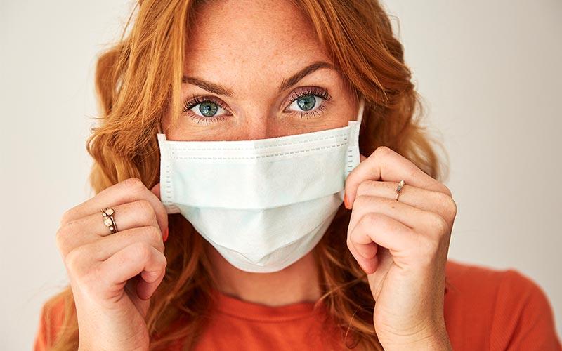 عوارض ماسک زدن طولانی