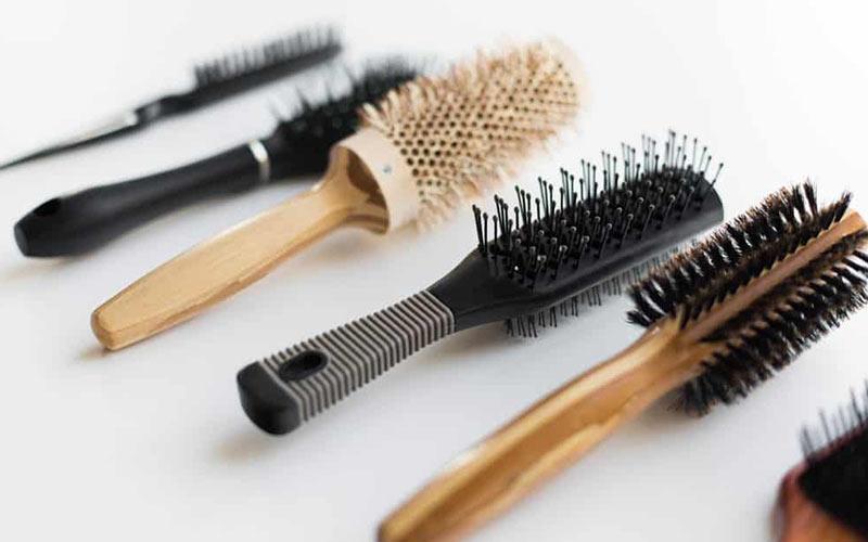 برس مو برای موهای فر