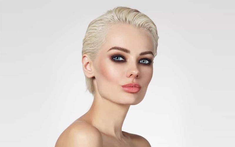 مدل مو پسرانه برای دختر با صورت کشیده