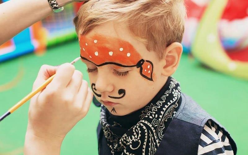 نقاشی صورت کودکان