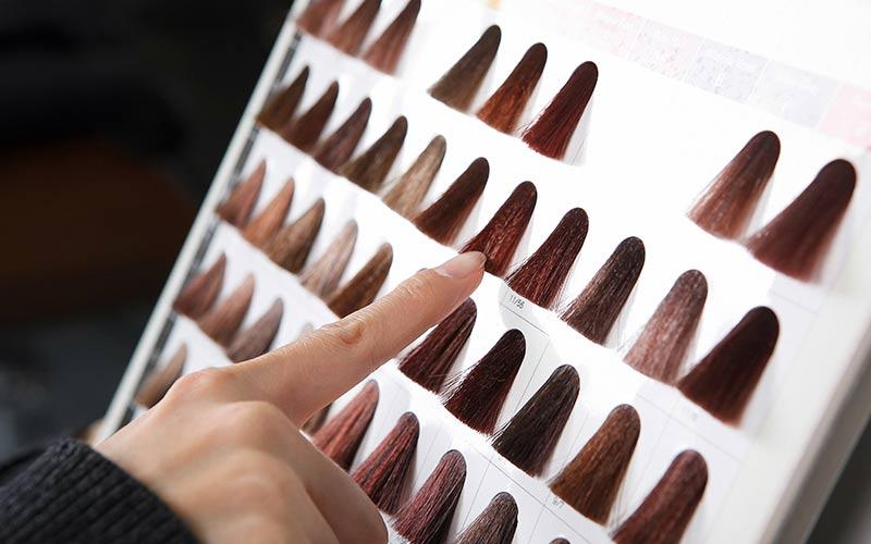 آموزش کاتالوگ خوانی رنگ مو ها