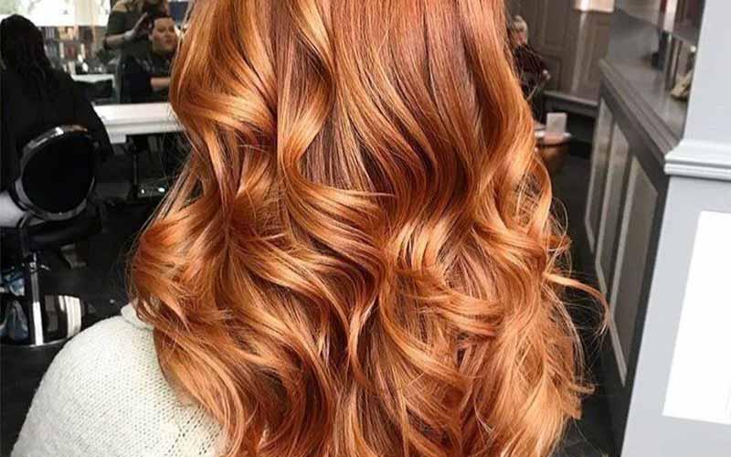 فرمول رنگ مو مسی عسلی