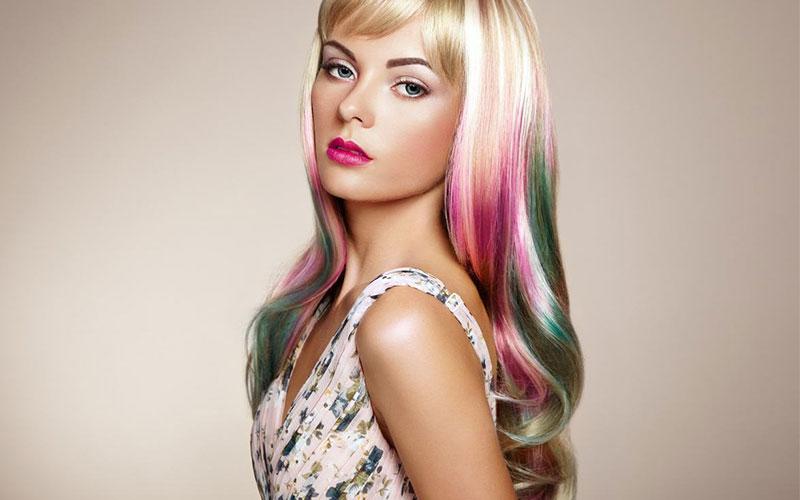 رنگ موی هالوگرافیک