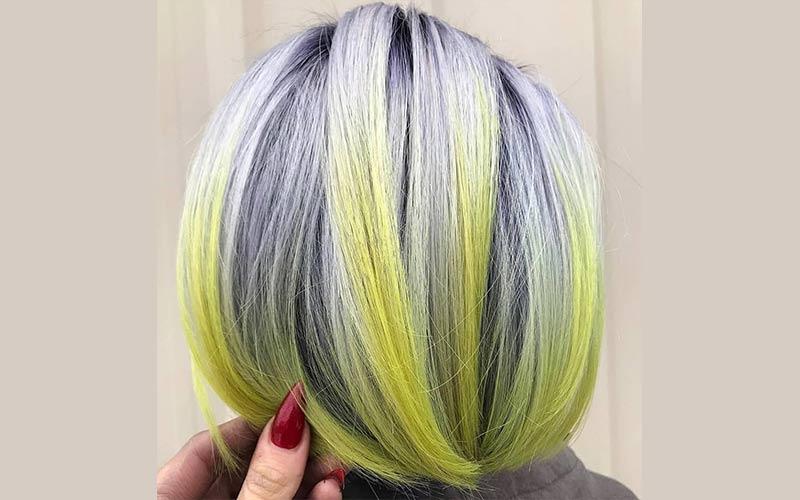 رنگ سال ۲۰۲۱ مو