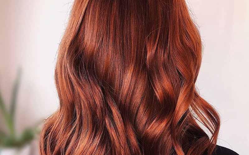 فرمول رنگ موی مسی قهوه ای