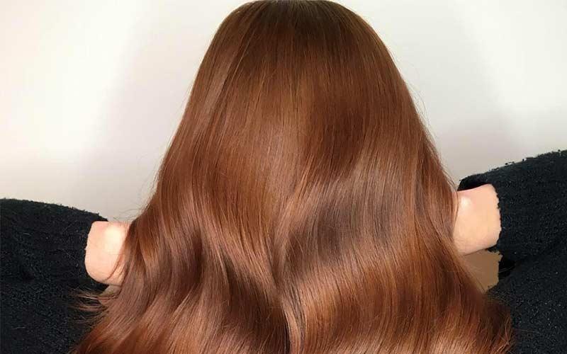 رنگ موی فندقی روشن