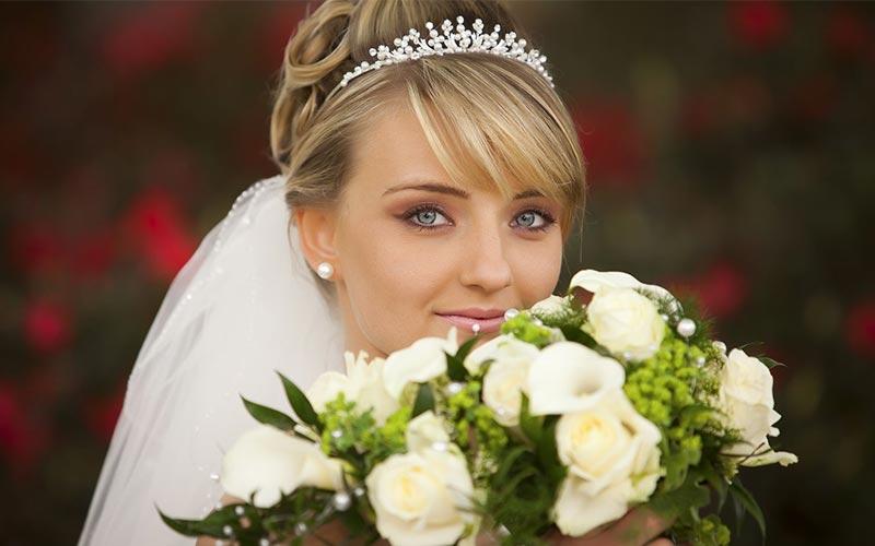 مدل مو عروس با تاج ملکه ای جدید