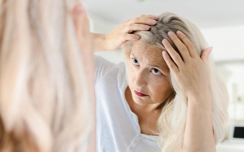 پیشگیری از سفید شدن مو در جوانی
