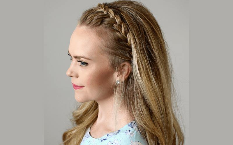 تل بافت موی زیبا