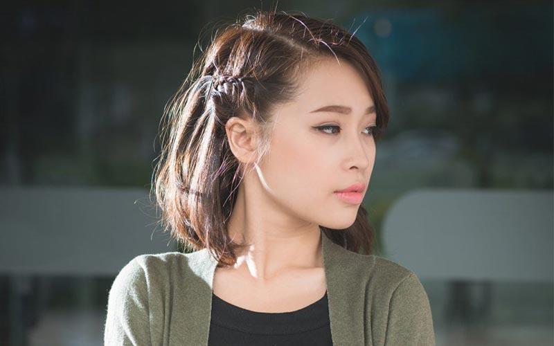 مدل مو برای زیر شال دخترانه ساده