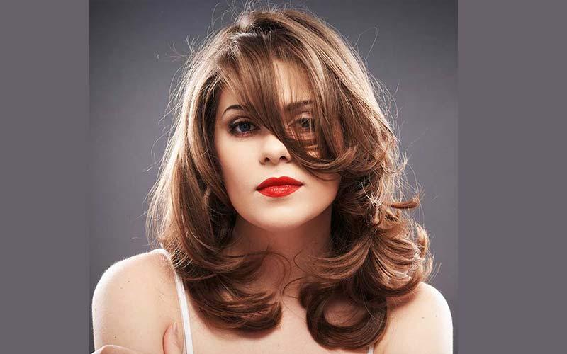 مدل مو باز شیک و ساده