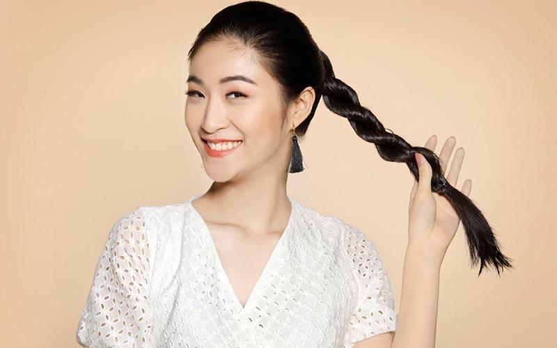 مدل موی دم اسبی آسان و شیک