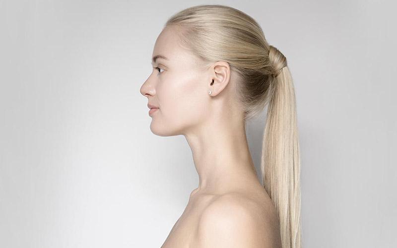 مدل مو دم اسبی برای موهای لخت و بلند