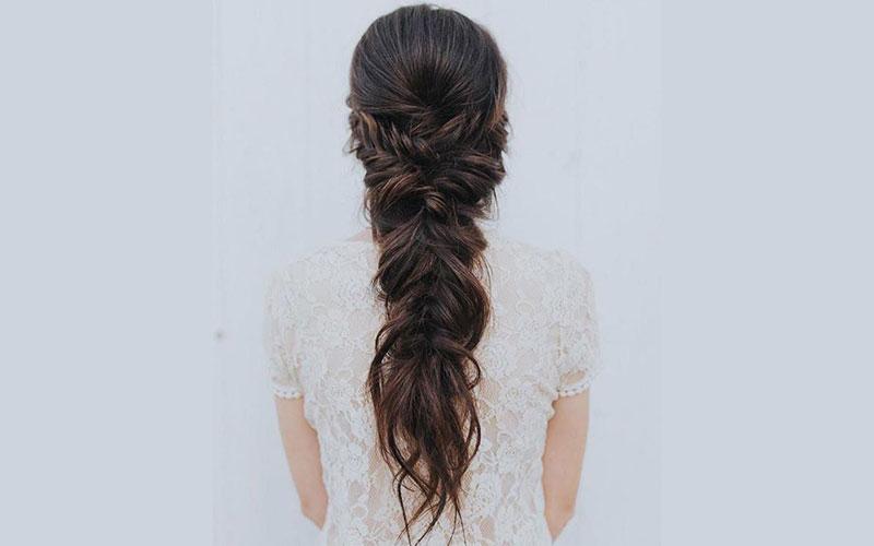مدل مو باز عروس