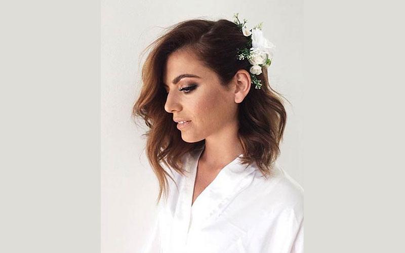 موی باز متوسط ساده و زیبا