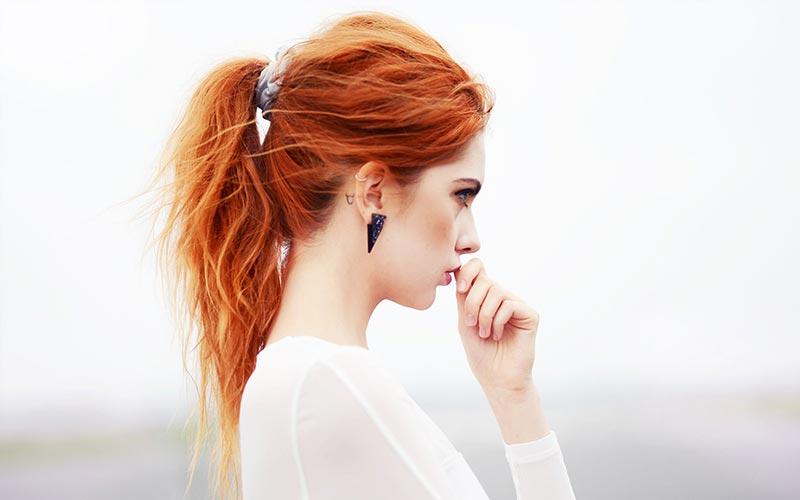 مدل موی دم اسبی دخترانه