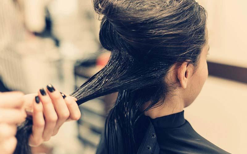 مراحل کراتینه مو