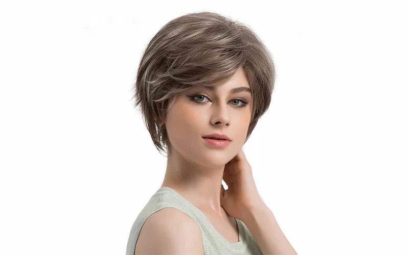 مدل موی کوتاه زنانه برای صورت گرد