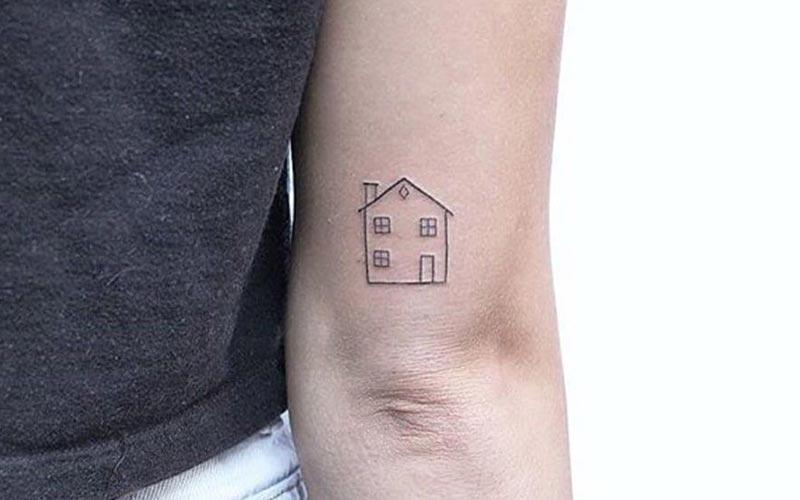 تتو مینیمال طرح خانه