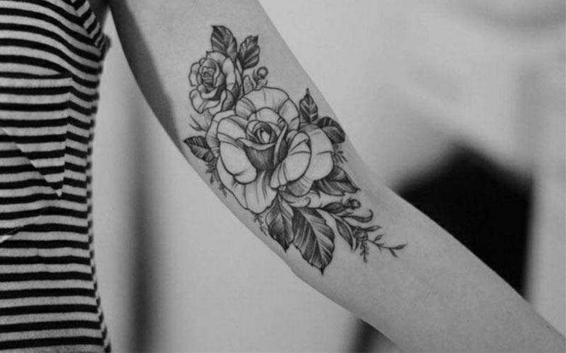 طرح تاتو جدید روی بازو
