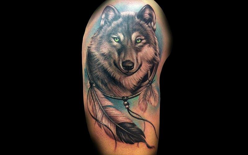 خالکوبی گرگ جدید