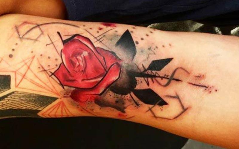 گل رز قرمز خاص