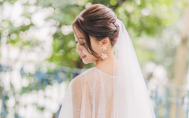 مدل موی عروس ساده
