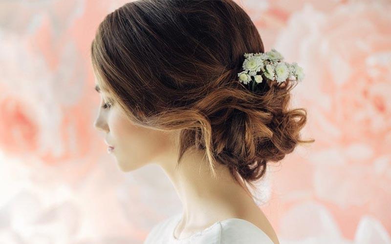 مدل موی عروس کوتاه