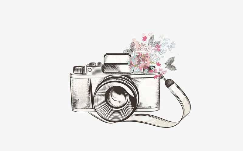 تاتو خام دوربین عکاسی