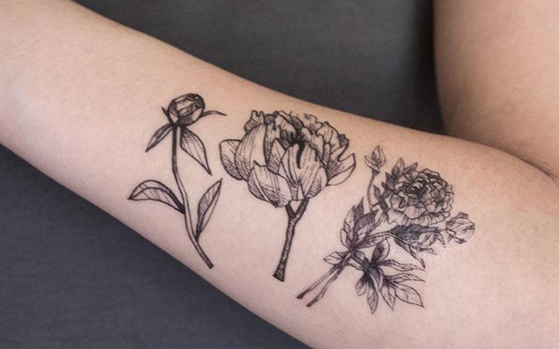طرح های شیک و زیبای گل