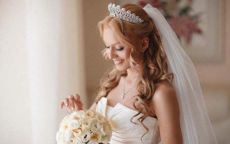 مدل موی کرلی عروس