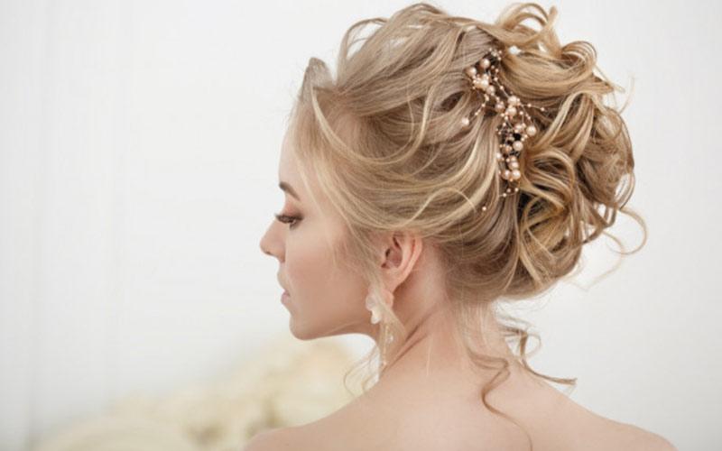مدل موی جدید اروپایی برای عروس