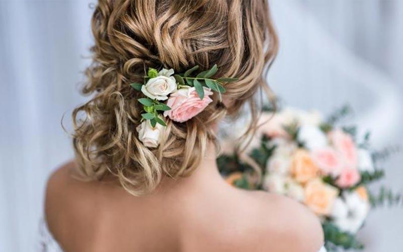 مدل مو عروس جدید اروپایی