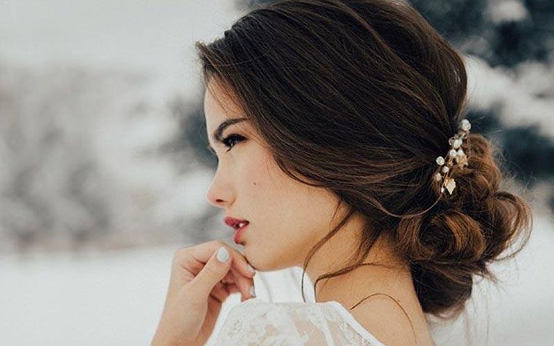 مدل موی عروس ساده و شل
