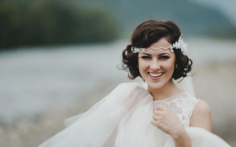 مدل موی کوتاه عروس