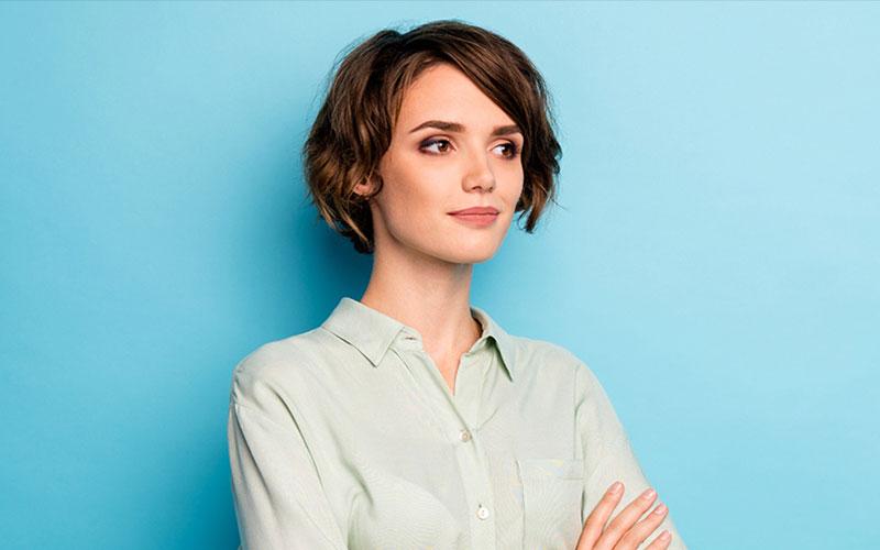مدل مو دخترانه ساده کوتاه