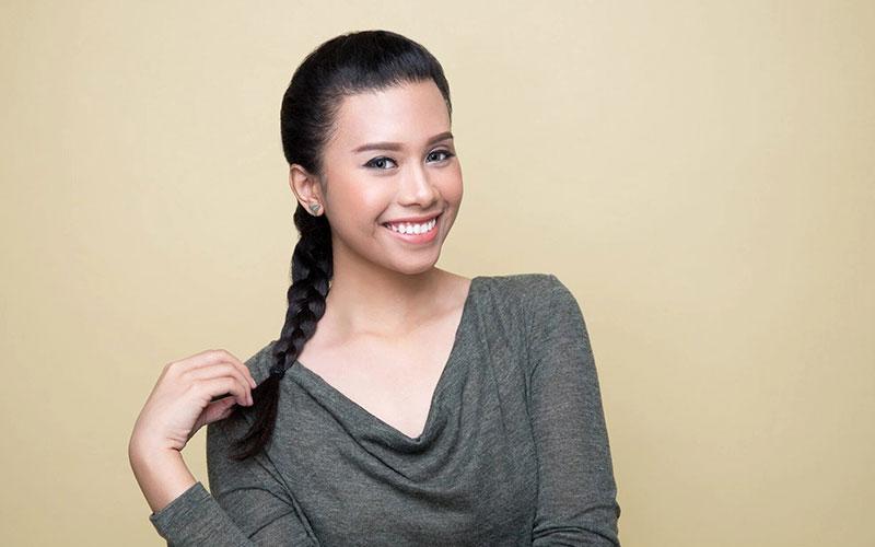 مدل مو دخترانه بافت ساده