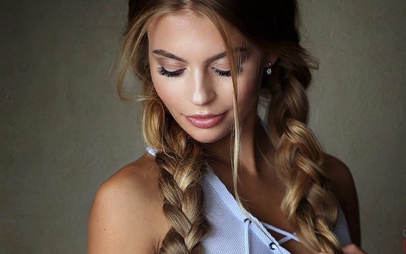 مدل مو دخترانه ساده برای خانه