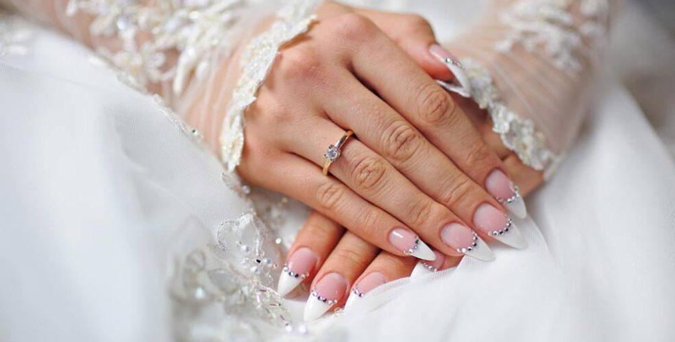 طرح ناخن عروس